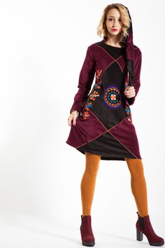 #rochiecatifea #glugaelf #rochieiarna #rochiegroasa #catifea #visinie Elf, Casual, Clothing, Dresses, Outfit, Gowns, Elves, Dress, Clothes