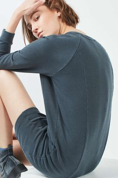 Washed Sweater Dress - Topshop USA