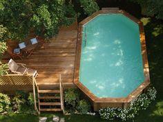 Mini pool - little garden. Ambra, made in Italy