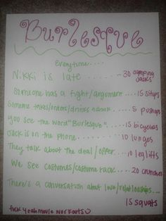 Burlesque workout! Submission :)  Want to see more workouts like this one? Follow us here.