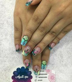 Nail Art, Nails, Beauty, Fashion, Designed Nails, Hair And Nails, Short Nails, Feet Nails, French Tips