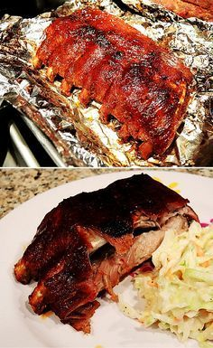 Fall-Off-The-Bone Baby Back Ribs in the Oven