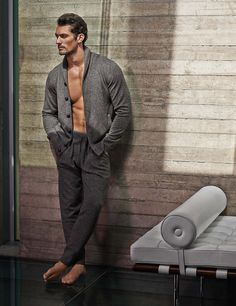 David Gandy for Autograph Marks & Spencer Fall 2015 Shoot