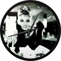 Wanduhr Ø 31 cm, Nostalgic Art Strauss Innovation, Nostalgic Art, Audrey Hepburn, Vintage, Nostalgia, Vintage Comics