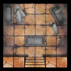 Hello all, I've been putting together various new dungeon tiles for Warhammer Quest. Started off as one or two but I seem to have gone a bit mad. [b]*All dungeon tiles in this thread may be used freely but not sold. if you post these on another forum Dungeon Room, Dungeon Tiles, Dungeon Maps, Tabletop Rpg, Tabletop Games, Board Game Template, Board Game Design, Adventure Map, Fantasy Map