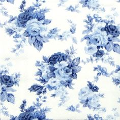 A paper napkin for decoupage with pretty blue roses. Great for your decoupage projects. Paper Napkins For Decoupage, Decoupage Vintage, Decoupage Plates, Blue Roses, Blue Flowers, Vintage Santas, Vintage Christmas, Blue Ex, Paper Serviettes