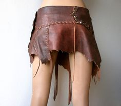 Dream Warriors worn out brown /ochre red by DreamWarriors on Etsy