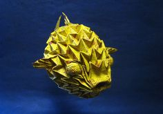 images of oragami   the awesome inflatable fugu origami