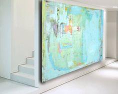 Large Abstract Painting custom painting por CherylWasilowArt