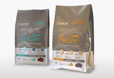 Truline Cat Food Packaging Design