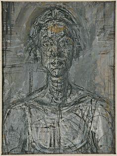 Alberto Giacometti, Bust of Annette, 1954. Private Collection. © Estate of Alberto Giacometti (Fondation Giacometti, Paris and ADAGP, Paris) 2015.