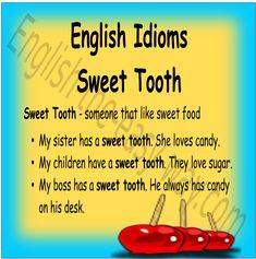 Do you like _______? 1. candy 2. cake 3. both #EnglishIdioms
