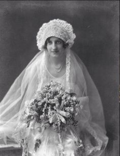 Vintage Lithuanian Bride.