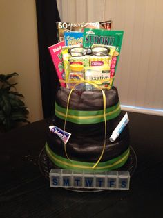 1000 Images About Adult Diaper Cakes On Pinterest
