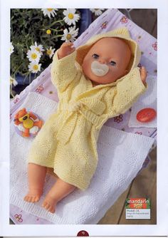 Album Archive - Dukketøj til Baby Born 2 - Ingelise Knitted Doll Patterns, Knitted Dolls, Baby Knitting Patterns, Crochet Patterns, Knitting Dolls Clothes, Doll Clothes Patterns, Baby Born Clothes, Album, Diy Toys
