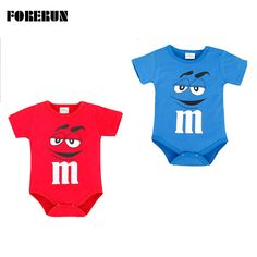 >> Click to Buy << 2016 New Baby Boy Bodysuit Letter M Print Cartoon Children's Clothes for Newborns Cotton Short Sleeve Single Breasted Jumpsuit #Affiliate