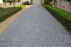 Opritten Front Garden Ideas Driveway, Driveway Design, Pattern Concrete, Concrete Pavers, Pharmacy Design, Garden Paving, Gate Design, Pavement, House Front
