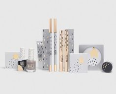 Packaging for Top Shop Cosmetics based on festival.