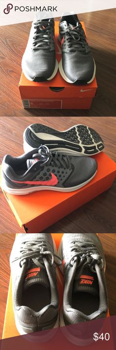 5bbaf6dfc8d7f Nike Downshifter 7 Shoes Women s size 8 Nike Downshifter 7. Gray and pink  (lava