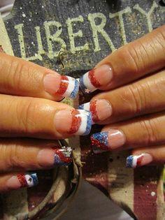 4th of July  by nicole43 - Nail Art Gallery nailartgallery.nailsmag.com by Nails Magazine www.nailsmag.com #nailart