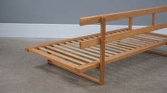 Borge Mogensen Daybed | The Modern Warehouse Deck Furniture, Pallet Furniture, Furniture Styles, Furniture Design, Homemade Couch, Sofa Bench, Folding Sofa Bed, Sofa Seats, Daybed Couch