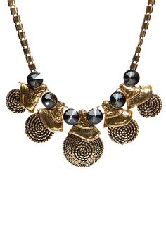 The ultimate statement necklace! We are in love #statement boohoo.com
