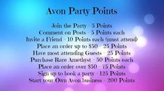 Avon Facebook Party Ideashttps://www.facebook.com/groups/YourAvonLady71