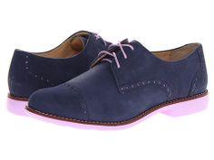 Cole Haan Gramercy Oxford Cap Blazer Blue/Thistle - 6pm.com
