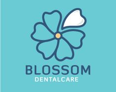 BLOSSOM DENTALCARE Logo design - This logo is ideal for a business related to:dental lab, dentist, dental clinic, dentistry, health, pediatric dentist, lost tooth, orthodontist, dental care, tooth brush, tooth fairy, dentist office, therapist, community services, social networks, youth group, well-being, clinic, medicine, healing, humanity, care center, hospital, consulting, counseling, etc. Price $499.00