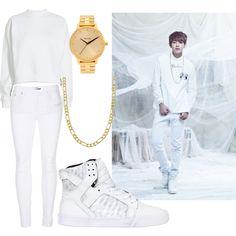 BTS: V/ N.O. outfit inspired