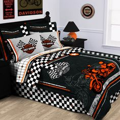Harley Davidson Bedroom