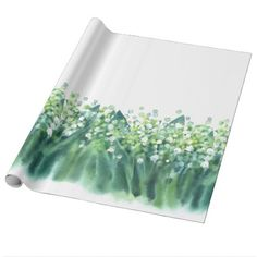 #Lily Of The Valley Floral Spring Wedding Wrapping Paper - #wedding gifts #marriage love couples