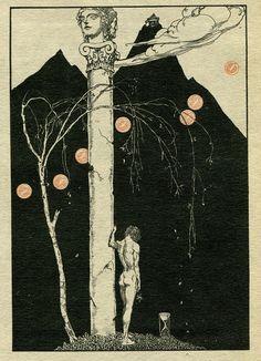 Illustration for Tannhauser ~ Willy Pogany