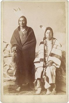 Two Northern Plains (Crow) Men, Dakota Territory Native American History, Native American Indians, American Art, Sioux, Eskimo, Indian Art, Native Indian, American Spirit, First Nations