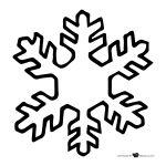 Haz clic sobre el dibujo del copo de nieve que necesites para imprimir ...