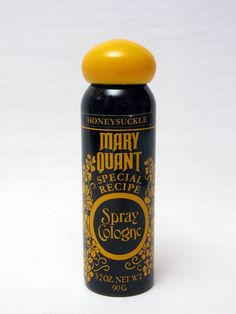 Vintage Mary Quant Honeysuckle Special Recipe Spray Cologne 3.2oz./90g VERY RARE I HAVE THIS IN MY COLLECTION