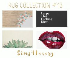 Sims 4 Luxury - Rug Collection 13 for The Sims 4