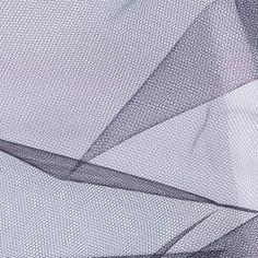 Black nylon tulle from Anna Sui. Stiff drape, perfect for petticoats or accessories.
