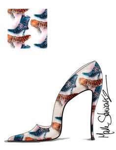 Mark Schwartz Shoe Designer. High Heeled Art. www.highheeledart.com