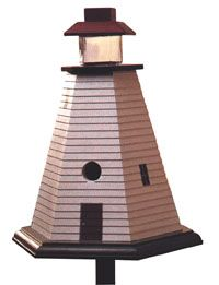 Wood Magazine - Woodworking Project Paper Plan to Build Lighthouse Birdhouse Bird House Plans, Bird House Kits, Simple Furniture, Diy Furniture Plans, Furniture Design, Woodworking Projects That Sell, Woodworking Plans, Woodworking Shop, Woodworking Machinery