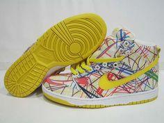 Nike Dunks High Premium Womens QK Back to School Yellow White Wholesale Nike Shoes, Cheap Wholesale, Supra Shoes, Nike Shoes Cheap, Cheap Nike, Nike Kicks, High Shoes, Discount Nikes, Nike Air Jordans