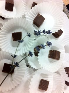 Lavender Chocolate Fudge - Delicious & simple!