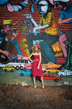 These vibrant fashions keep any wardrobe from becoming drab, and thanks to the annual Living Walls conference, Atlanta's streets are looking brighter as well.