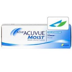 Acuvue 1 Day Moist for Astigmatism 30pk - $34.50 at www.replacemycontacts.com. With Acuvue's patented Blink Stabilized design, your astigmatism won't affect the stability of your lens any longer and your contacts will stay in place throughout the day. No more shifting and rotation – even under the most active conditions.