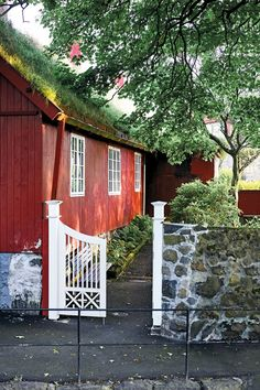 The Faroe Islands: far-flung cool Green Mountain, Faroe Islands, Archipelago, Country Life, House Colors, The Good Place, Travel Destinations, Architecture, House Styles