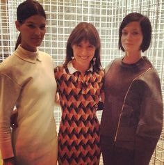 Blogger Hanneli Mustaparta & DJ Leigh Lezark talk New York Fashion Week #NYFW #Grazia360