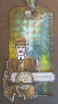that crazy chick: the journey...;  Sept 2016 #timholtz  #stampersanonymous…