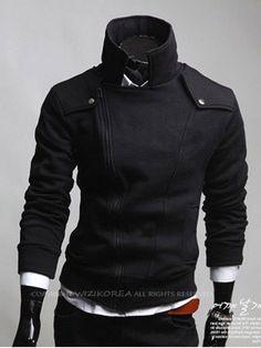 New Men& Jacket Large Lapel Sweater Men& Sweater Jackets Latest Mens Fashion, Korean Fashion, Men's Fashion, Sweater Coats, Sweater Jacket, Moda Hipster, Underwear, Sharp Dressed Man, Look At You