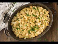 Millet Gratin with Cauliflower and Havarti | Naturally Ella