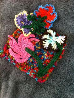 #Crochet #Flower #Art